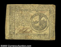 Colonial Notes:Continental Congress Issues, Continental Currency $2 November 29, 1775 Very Fine. A ...
