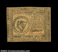 Colonial Notes:Continental Congress Issues, Continental Currency November 29, 1775 $8 Extremely Fine. ...