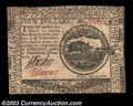 Colonial Notes:Continental Congress Issues, Continental Currency February 17, 1776 $4 Very Choice New. ...