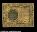 Colonial Notes:Continental Congress Issues, Continental Currency February 17, 1776 $7 Fine. A solid, ...