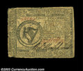 Colonial Notes:Continental Congress Issues, Continental Currency February 17, 1776 $8 Fine-Very Fine. ...