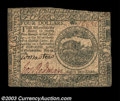 Colonial Notes:Continental Congress Issues, Continental Currency July 22, 1776 $4 Extremely Fine. This ...