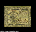 Colonial Notes:Continental Congress Issues, Continental Currency July 22, 1776 $5 Extremely Fine. A ...