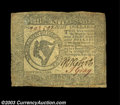 Colonial Notes:Continental Congress Issues, Continental Currency September 26, 1778 $8 Fine-Very Fine. ...