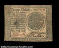Colonial Notes:Continental Congress Issues, Continental Currency September 26, 1778 $20 Fine. The ...