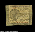 Colonial Notes:Continental Congress Issues, Continental Currency September 26, 1778 $40 Contemporary ...