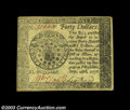 Colonial Notes:Continental Congress Issues, Continental Currency September 26, 1778 $40 Choice Extremely ...