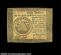 Colonial Notes:Continental Congress Issues, Continental Currency September 26, 1778 $50 Very Choice New.