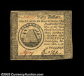 Colonial Notes:Continental Congress Issues, Continental Currency September 26, 1778 $50 About New. ...