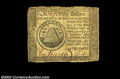 Colonial Notes:Continental Congress Issues, Two Continental notes. The first is a Very Fine $50 ... (2 notes)