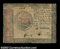 Colonial Notes:Continental Congress Issues, Continental Currency January 14, 1779 $45 Fine. This ...
