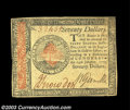Colonial Notes:Continental Congress Issues, Continental Currency January 14, 1779 $70 Extremely Fine. ...