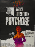 """Movie Posters:Hitchcock, Psycho (Paramount, R-1970s). French Grande (46"""" X 61"""").Hitchcock...."""