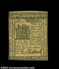 Colonial Notes:Delaware, Delaware May 1, 1777 20s Very Choice New. A near-Gem ...