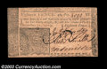 Colonial Notes:New Jersey, New Jersey December 31, 1763 18d Very Choice New. A Gem in ...