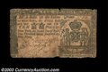 Colonial Notes:New York, New York April 2, 1759 L10 Very Fine. There are some ...
