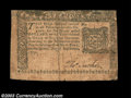 Colonial Notes:New York, New York September 2, 1775 $10 Very Fine. Two huge margins ...