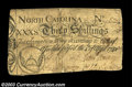 Colonial Notes:North Carolina, North Carolina April 4, 1748 30s Fine. Contemporarily ...