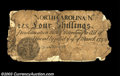 Colonial Notes:North Carolina, North Carolina March 9, 1754 4s Fine. This is the first ...