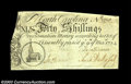 Colonial Notes:North Carolina, North Carolina March 9, 1754 40s Choice Extremely Fine. A ...