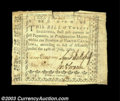 Colonial Notes:North Carolina, North Carolina July 14, 1760 20s Extremely Fine. This ...