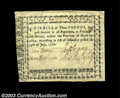 Colonial Notes:North Carolina, North Carolina July 14, 1760 L3 Extremely Fine. Another ...