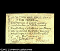 Colonial Notes:North Carolina, North Carolina December 1771 2s6d Duck Choice Extremely Fine....