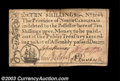 Colonial Notes:North Carolina, North Carolina December 1771 10s Extremely Fine. A few ...