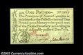 Colonial Notes:North Carolina, North Carolina December 1771 L1 Superb Gem New. A simply ...