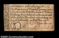 Colonial Notes:North Carolina, North Carolina December 1771 30s Very Fine. Two short ...