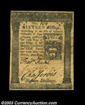 Colonial Notes:Pennsylvania, Pennsylvania March 20, 1773 16s Very Fine-Extremely Fine. ...