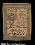 Colonial Notes:Pennsylvania, Pennsylvania October 1, 1773 10s Choice Very Fine. ...