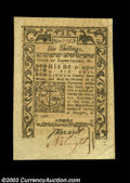 Colonial Notes:Rhode Island, Rhode Island May 1786 6s Choice About New. A very well ...
