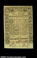Colonial Notes:Rhode Island, Rhode Island May 1786 L3 Choice New. The right face margin ...
