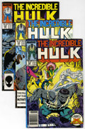 Modern Age (1980-Present):Superhero, The Incredible Hulk Box Lot (Marvel, 1987-97) Condition: AverageNM....