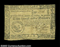 Colonial Notes:South Carolina, South Carolina December 23, 1776 $2 Very Fine-Extremely Fine....