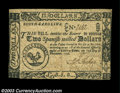 Colonial Notes:South Carolina, South Carolina December 23, 1777 $2 Choice Very Fine. A ...