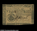 Colonial Notes:South Carolina, South Carolina December 23, 1776 $8 Extremely Fine. ...