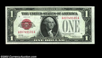 Fr. 1500 $1 1928 Legal Tender. Choice-Gem Crisp Uncirculated. Fresh and original with deep embossing and ideal color. Su...