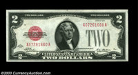 Fr. 1501 $2 1928 Legal Tender. Very Choice Crisp Uncirculated. A nice example that is centered just a bit too low for a...