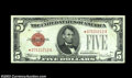 Small Size:Legal Tender Notes, Fr. 1530* $5 1928E Legal Tender. Extremely Fine-About ...