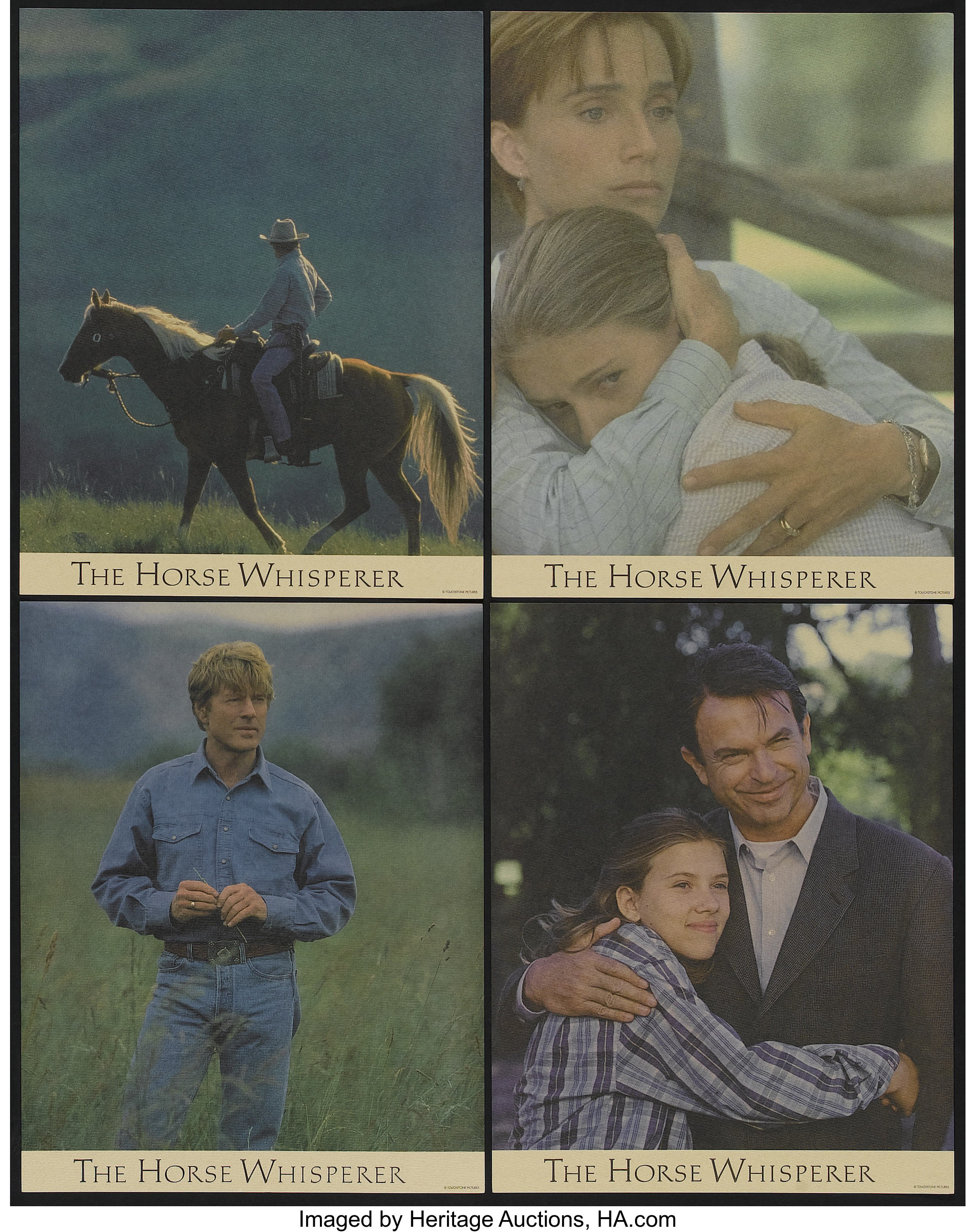 The Horse Whisperer Touchstone 1998 Lobby Card Set Of 11 11 X Lot 51175 Heritage Auctions