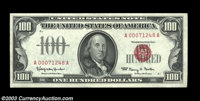Fr. 1550 $100 1966 Legal Tender. Gem Crisp Uncirculated. Last of the group of four consecutive gems, each with great col...