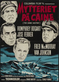 "Movie Posters:War, The Caine Mutiny (Columbia, 1954). Danish Poster (24"" X 33.5"").War...."