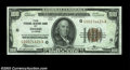 Fr. 1880-G $100 1929 Federal Reserve Bank Note. Choice Crisp Uncirculated. First of a consecutive pair. The back is a bi...