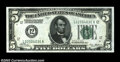 Fr. 1950-L $5 1928 Federal Reserve Note. Gem Crisp Uncirculated. A crackling fresh Gem from the San Francisco district...