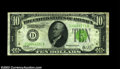 Fr. 2003-D $10 1928C Federal Reserve Note. Very Fine. From a much scarcer district than the more commonly seen New York...