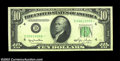 Fr. 2010-D* $10 1950 Wide Federal Reserve Note. Extremely Fine. Scarce in any grade