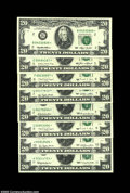 Some Modern $20 Federal Reserve Note Stars. Fr. 2065-K* $20 Choice CU Fr. 2067-G* $20 Choice-Gem CU Fr. 2072-G* $20 Gem...