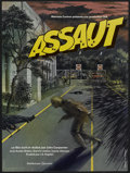 """Movie Posters:Action, Assault on Precinct 13 (Turtle Releasing, 1976). French Petite (15.5"""" X 20.5""""). Action...."""
